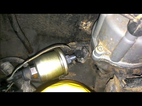 89 Cherokee Oil Pressure Sender Replacement