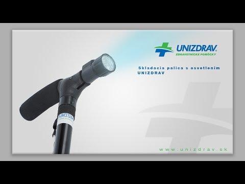 Skladacia palica s osvetlením UNIZDRAV - VIDEOMANUÁL