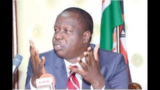 MATUNGU KILLINGS: CS Matiang'i in Kakamega to assess security