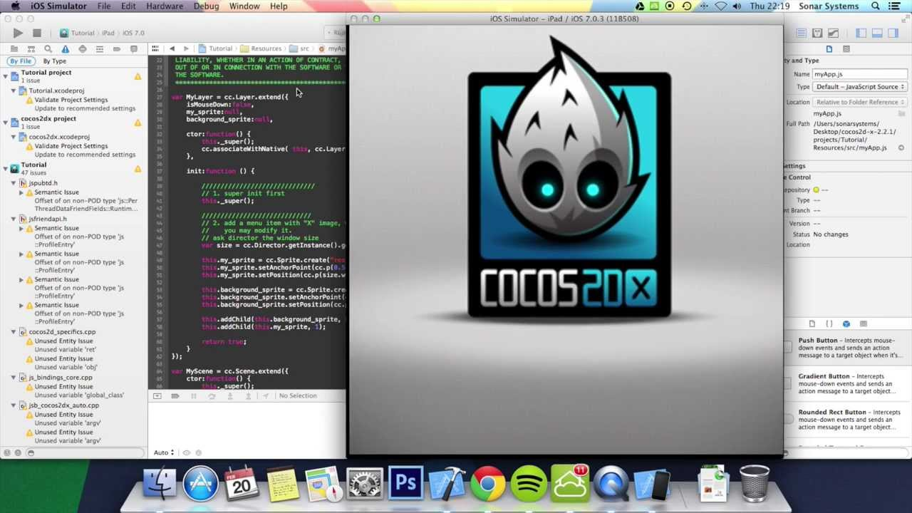 Cocos2d x background image - Cocos2d X Tutorial Adding A Background