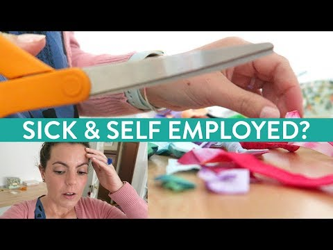 Sick & Self Employed?! | Day in the Life Vlog of Handmade Business Owner