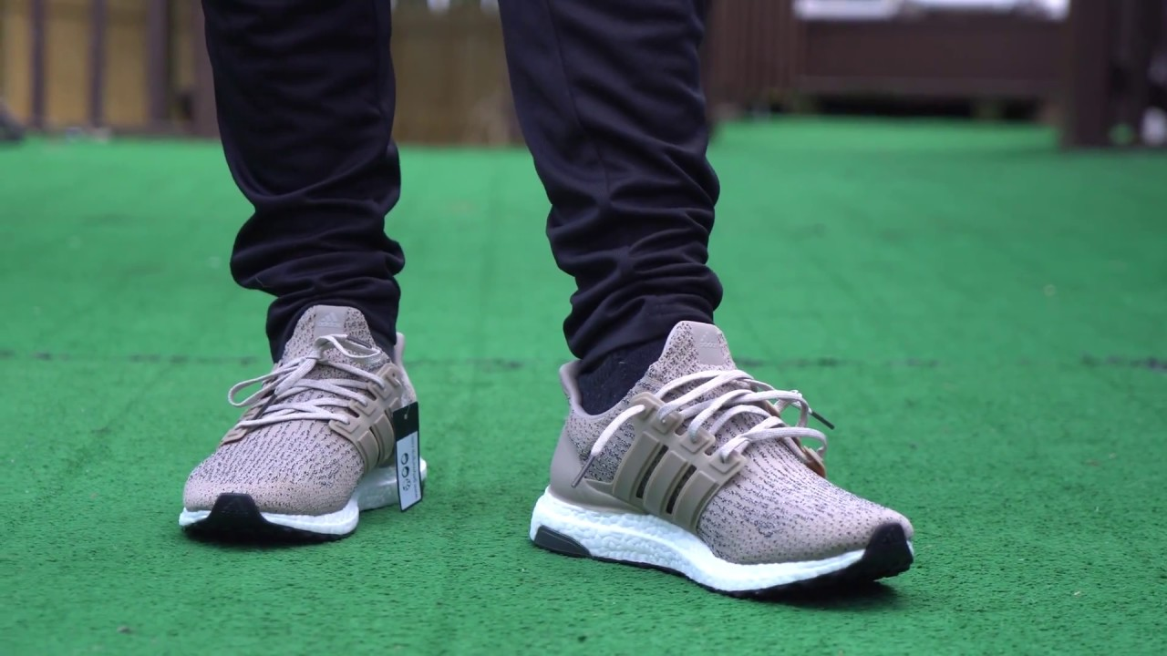 09c2bd553bf1 Ultra Boost 3.0 Trace Khaki - Unboxing   On Foot - YouTube