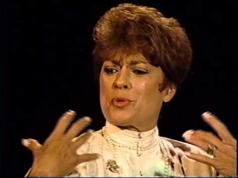 Fran Jeffries--1993 TV Interview, Dick Haymes clip