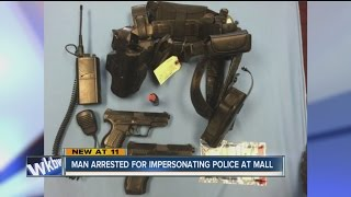 Man arrested at Outlet Mall for impersonating police