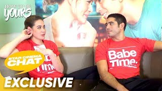 Gambar cover Bea Alonzo and Gerald Anderson interview each other