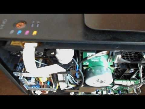 One way of fixing Samsung CLP-315 Printer Dev. Home error.AVI