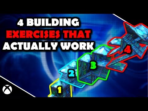 4 Building EXERCISES THAT Actually WORK (Learn Control) Fortnite Battle Royale