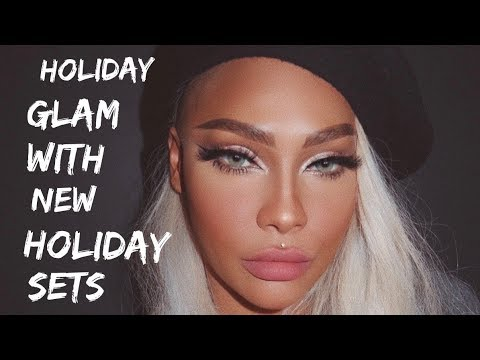 HOLIDAY GLAM USING KOREAN MAKEUP | SONJDRADELUXE thumbnail