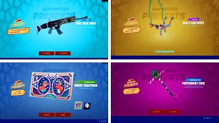 All 14 Winterfest Presents we know so far at the moment - Winterfest Fortnite 2019