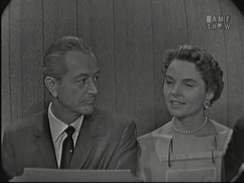 What's My Line?  Robert Young & Jane Wyatt; David Niven panel Sep 21, 1958