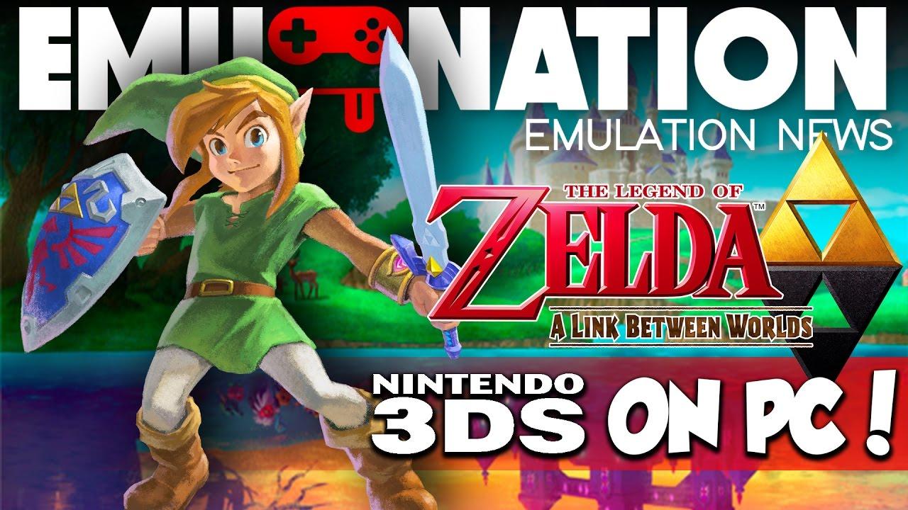 EMU-NATION: Zelda Link Between Worlds 3DS Emulated at 4K