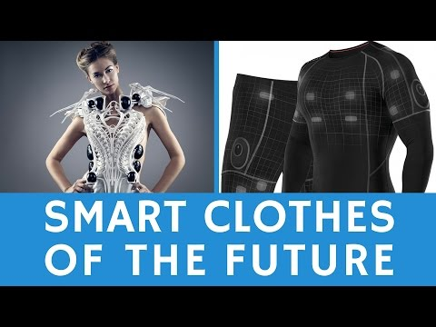 What is the clothing of the future: SMART wearables & e-textiles