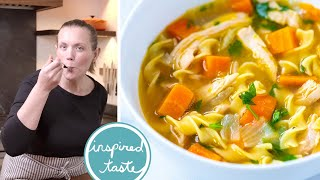 Download lagu Ultra-Satisfying Homemade Chicken Noodle Soup Recipe