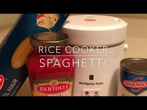 Spaghetti In The Rice Cooker