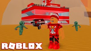 Roblox → BUILDING AN ANTI-ALIEN BASE!! -Roblox Mars Invasion Tycoon 🎮