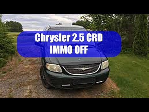 Chrysler 2.5 CRD Immo Off