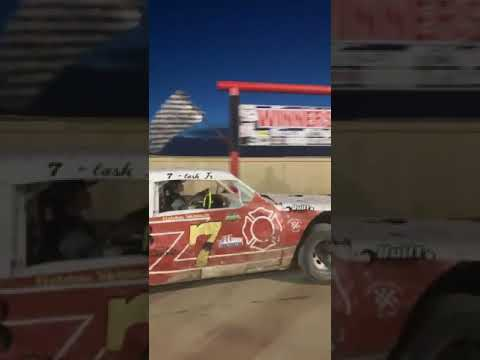 Route 66 motor speedway first win