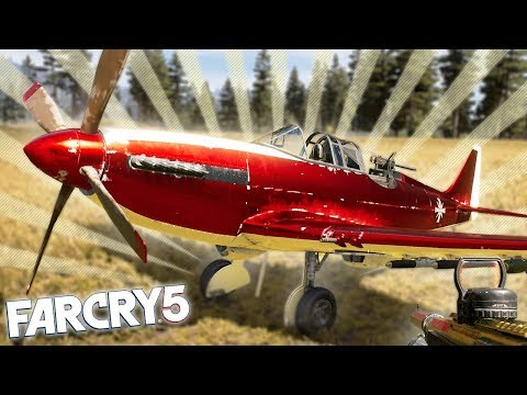 FAR CRY 5 BEST PLANE IN THE GAME LOCATION! Far Cry 5 Funny Moments & Fails!