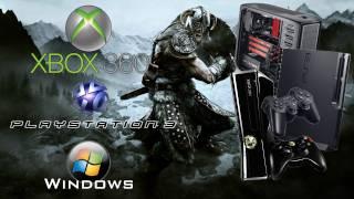 Elders Scroll's Skyrim - Xbox 360, Ps3 & PC comparison