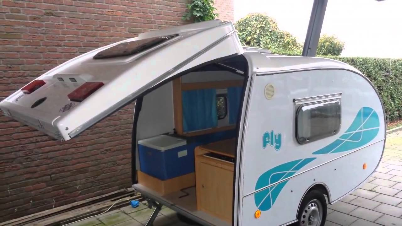 Caravan te koop fly mini caravan youtube - Te koop ...