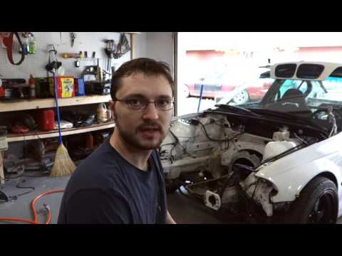 Ian's Garage Episode 3 - 1JZ BMW Fabrication and Engine Install