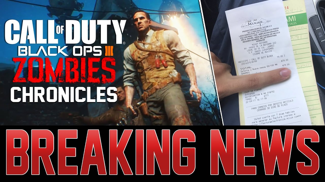 CALL OF DUTY: ZOMBIES CHRONICLES EXPANSION PRE-ORDER NOW