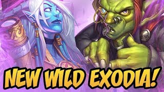 New Wild Exodia! | Rise Of Shadows | Hearthstone