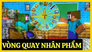 [ Lớp Học Quái Vật ] VÒNG QUAY NHÂN PHẨM PHIÊN BẢN ĐỊA NGỤC | Minecraft Animation