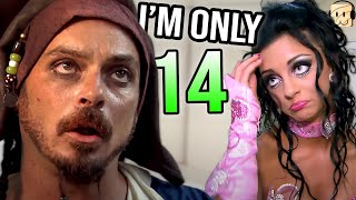 14 Year Old Looks for Husband at Halloween Party   Gypsy Brides TLC - React Couch