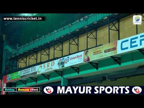 Sanam Goa Batting In KMCC 2016, Kerala Indoor Cricket Tournament
