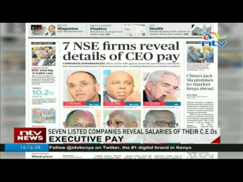 Seven NSE firms reveal details of CEO pay