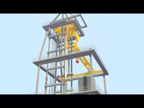 Stena Drill Slim Subsea BOP Deployment