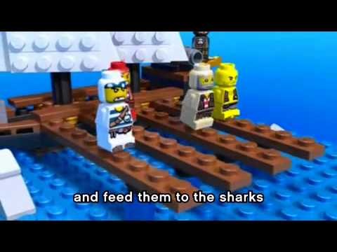 LEGO® Games - Introduction: Pirate Plank Board Game