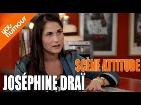 Interview de JOSEPHINE DRAI - Scène Attitude