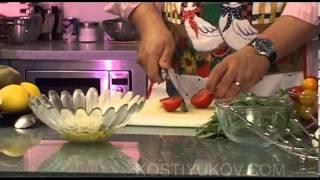 Серж Маркович. Салат руккола с беконом.