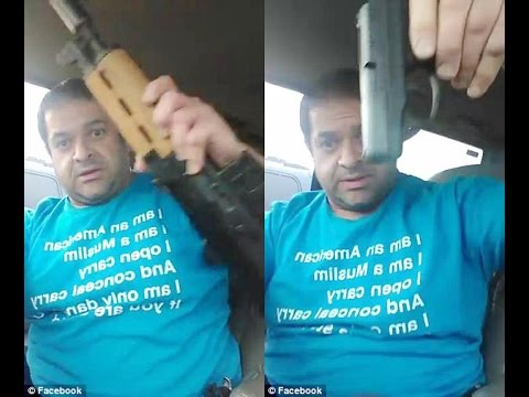 'Be terrified': Muslim films himself entering Christian conference after Showing off Weapons