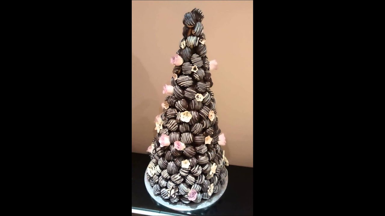 How To Make A Profiterole Tower Cake