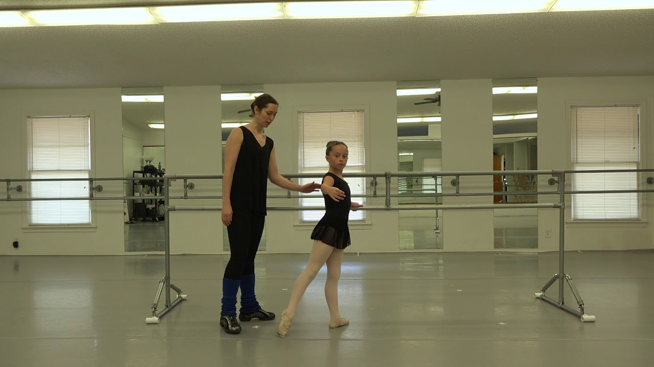 Beginner Intermediate Classical Ballet Class