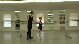 Beginner Intermediate Classical Ballet Class