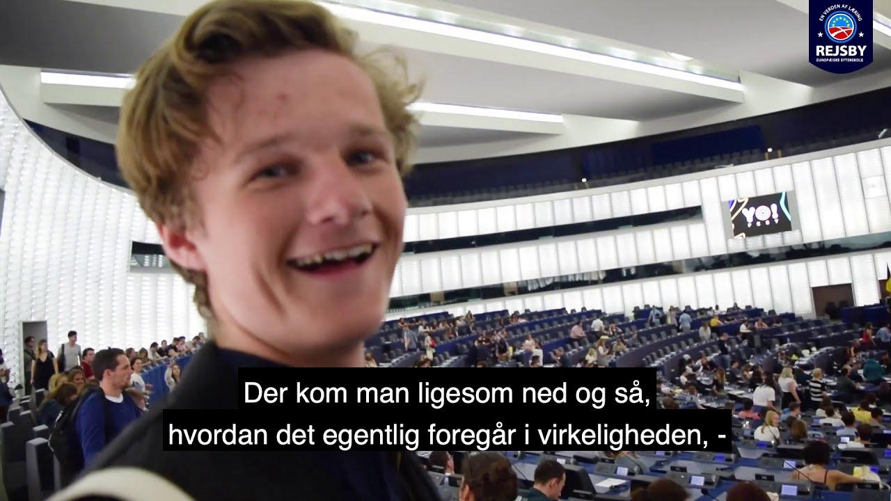 EU-samfundsfag på Rejsby
