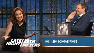 Like Andy Samberg, Ellie Kemper Does Not Understand Seth