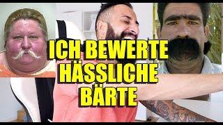 ICH BEWERTE HÄSSLICHE BÄRTE 😀 - LIVE REACTION | BARTMANN