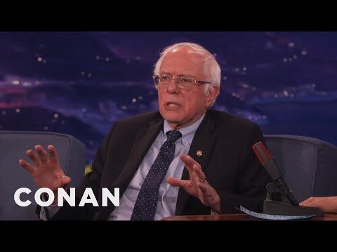 Senator Bernie Sanders On The Future Of The Democractic Party  - CONAN on TBS