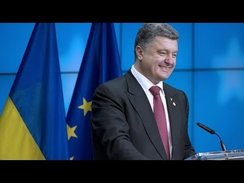 EU Signs Pacts With Ukraine, Georgia, Moldova