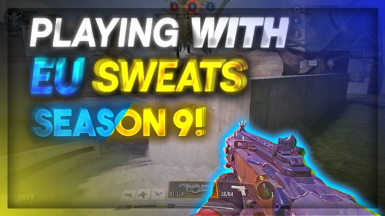 Download PLAYING AGAINST EU SWEATS LEGENDARY RANKED CALL OF DUTY MOBILE!!