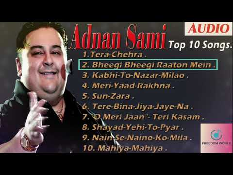 Top 10 Best Adnan Sami Hit Songs  Adnan Sami Album Songs