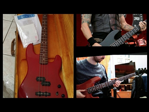 Fender Custom Shop Masterbuilt - John Cruz Jazz bass special review, built for DUFF MCKAGAN