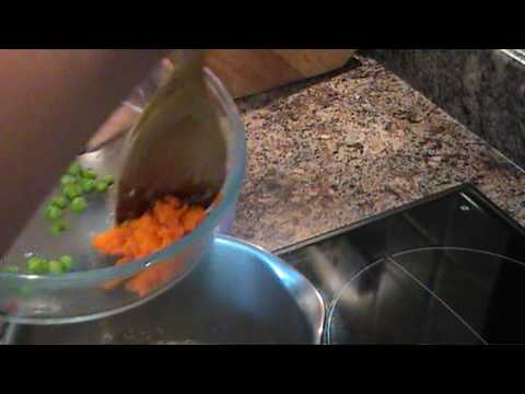 baby & toddler vegetable risotto meal