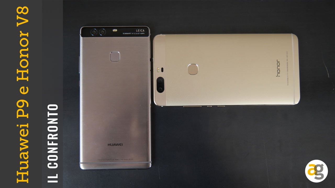 Huawei P9 Plus Versus Honor V8 Il Confronto By Andreagaleazzi Com