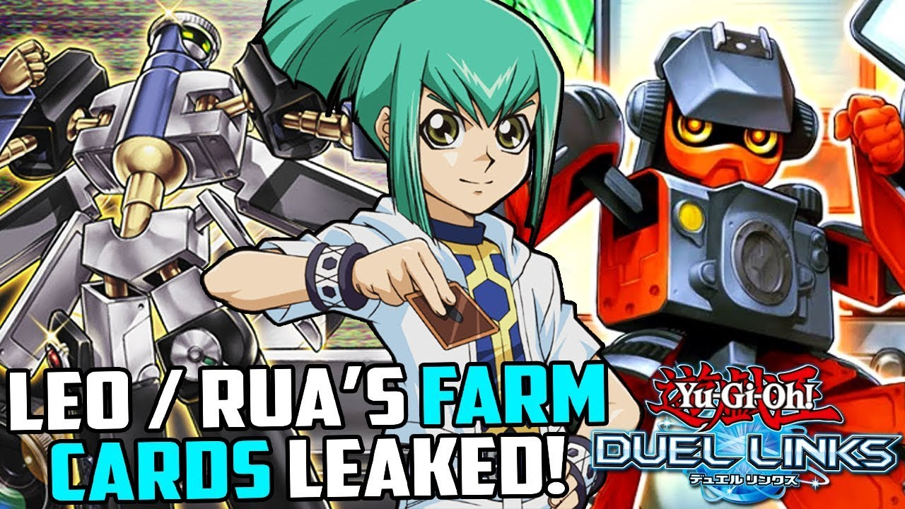 [Yu-Gi-Oh! Duel Links] LEO / RUA'S FARMABLE CARDS LEAKED! MORPHTRONICS IN  DUEL LINKS!